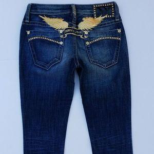 New ROBIN'S JEAN Super Marilyn Straight Jeans